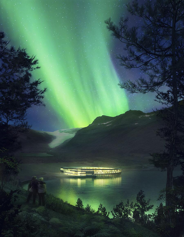 Hotel Svart Ecosostenibile Norvegia Snøhetta
