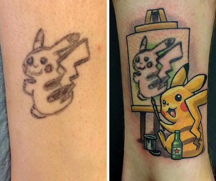 Modificare un tatuaggio fatto male o che vi ha stancato: 71 idee per correggere o coprire
