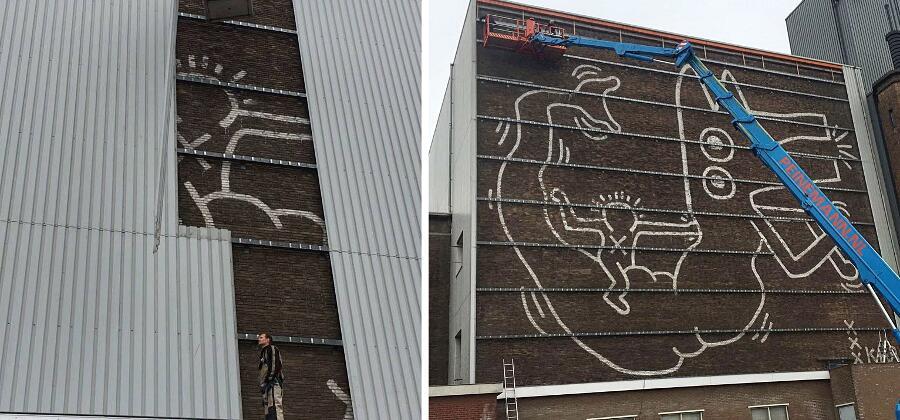 Murale Keith Haring Amsterdam