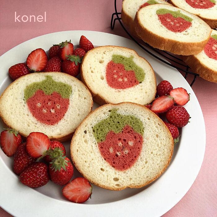 Pane Disegni Dentro Konel Bread