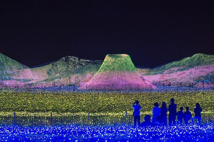 Parco Luminoso Nabana No Sato Giappone