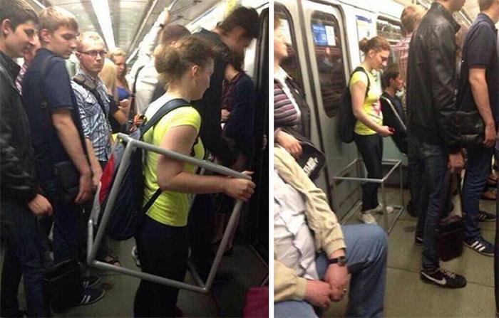 Quando sulla metro vedi cose assurde: 100 divertenti esempi