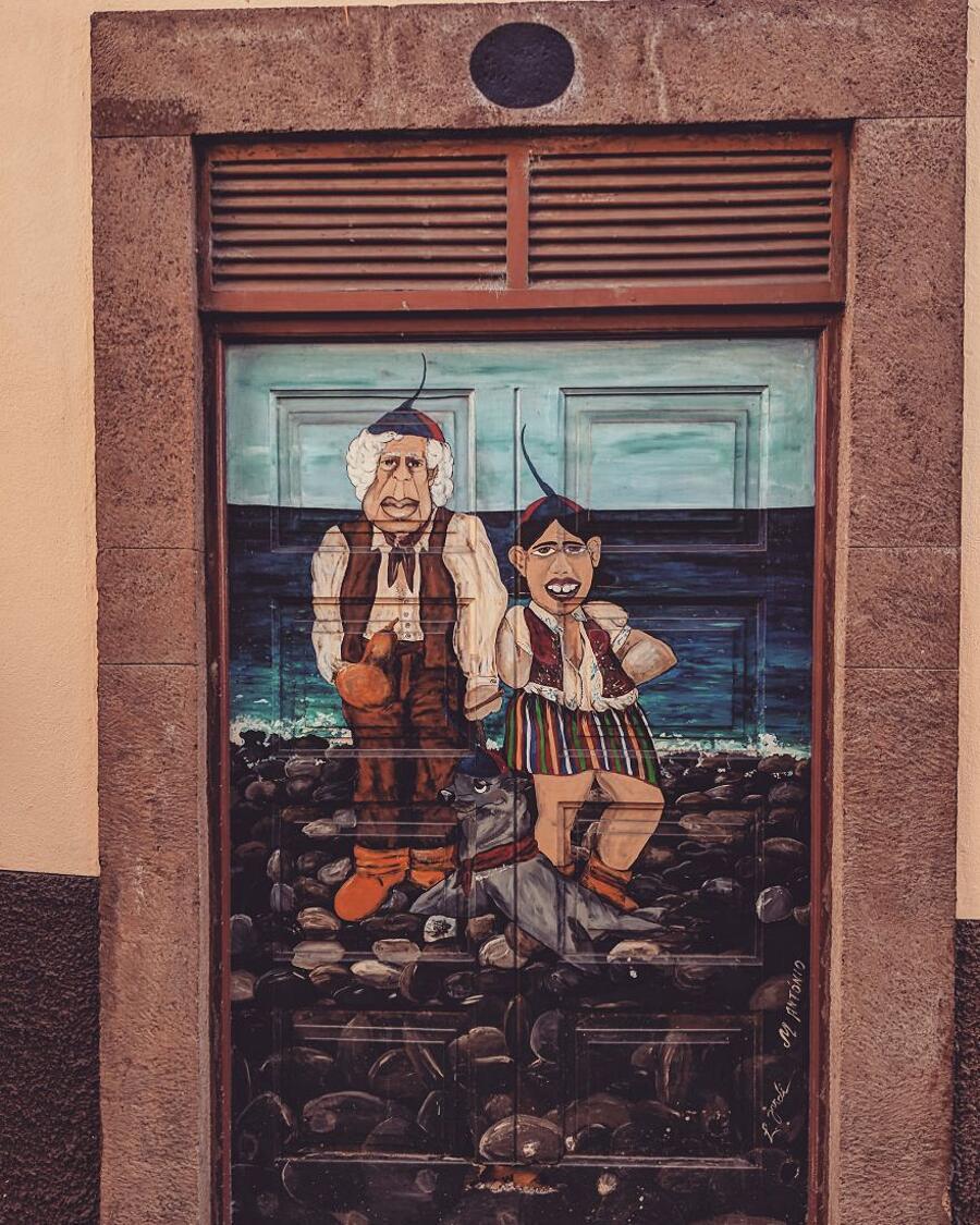 Porte Dipinte Funchal Madera Guido Gutierrez Ruiz