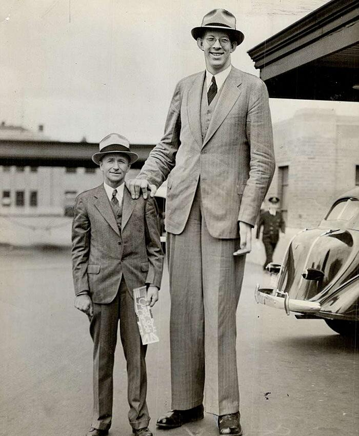 Robert Wadlow Uomo Più Alto Mai Esistito Video Raro