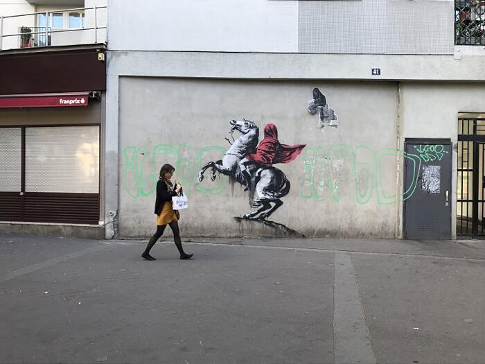 Street Art Critica Politica Banksy Parigi