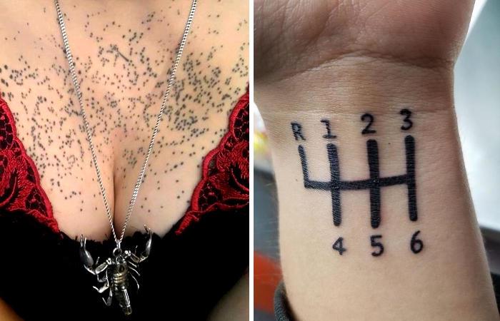 Tatuaggi brutti: 112 esempi tra i peggiori che abbiate mai visto