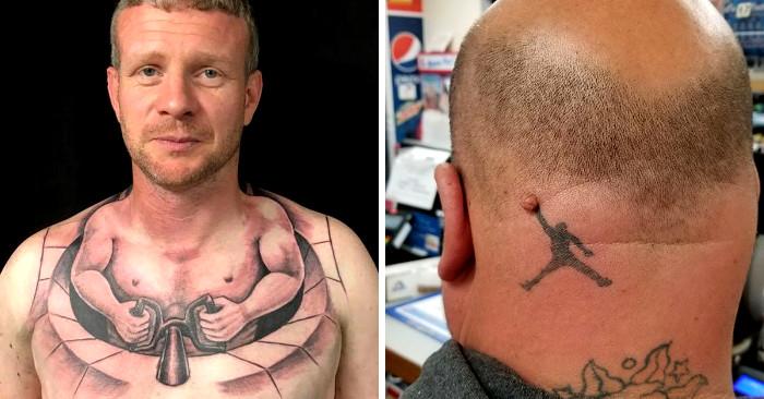 Tatuaggi brutti 112 esempi tra i tatuaggi più brutti e fatti male della  storia