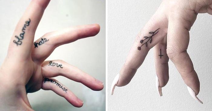 Tatuaggi Dita 50 Esempi Davvero Stilosi Di Tatuaggi Per Dita
