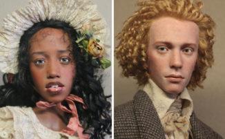 Artista russo crea bambole così realistiche che sembrano persone vere