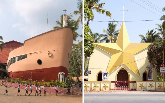 In questa regione indiana le chiese non sembrano chiese
