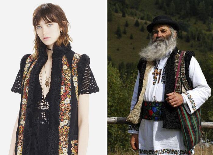 Dior Copia Abiti Tradizione Rumena Bihor Couture
