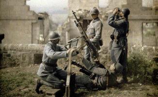 Foto di 100 anni fa mostrano un raro scorcio a colori della Prima Guerra Mondiale