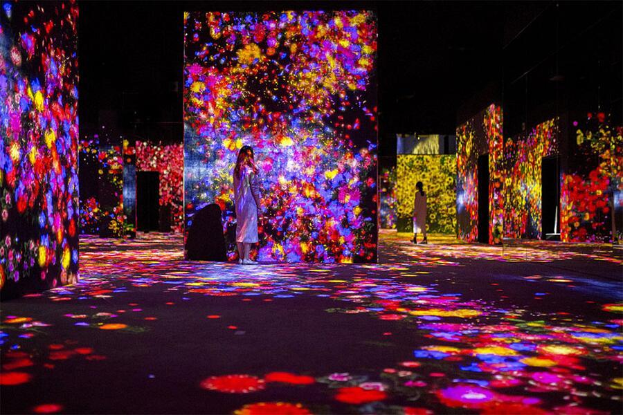 Foto Mori Building Digital Art Museum Tokyo
