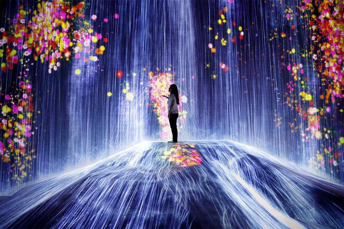 Le incredibili foto del nuovo Digital Art Museum di Tokyo