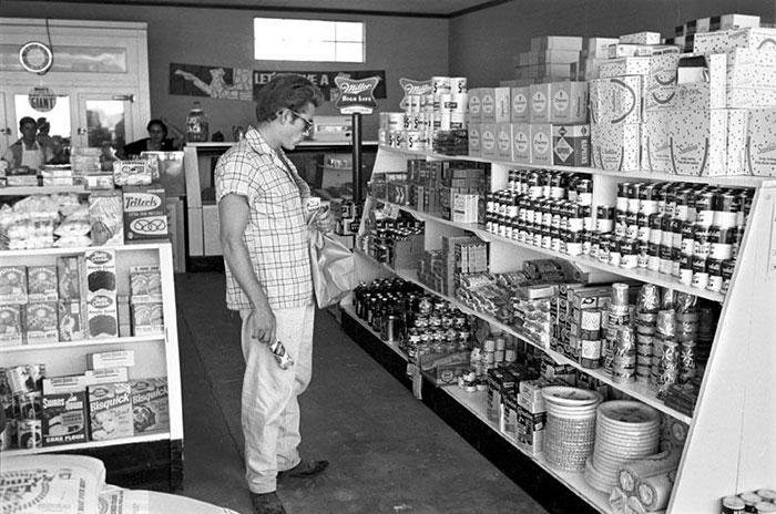 Foto Vintage Alimentari America