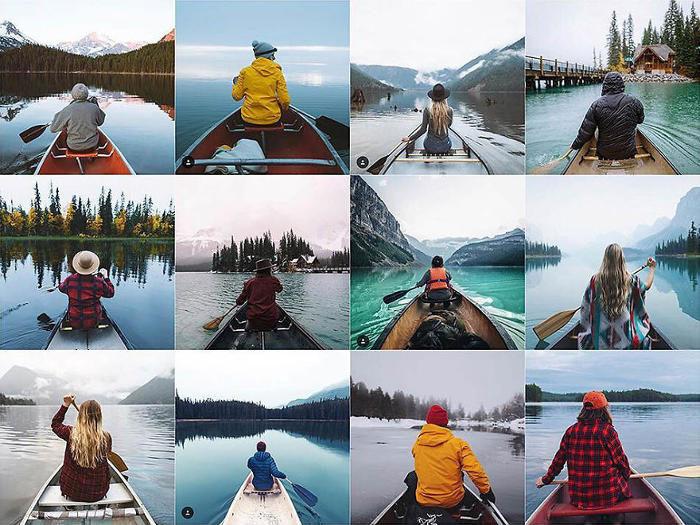 Mostra come le foto di Instagram siano tutte uguali ed è piuttosto inquietante