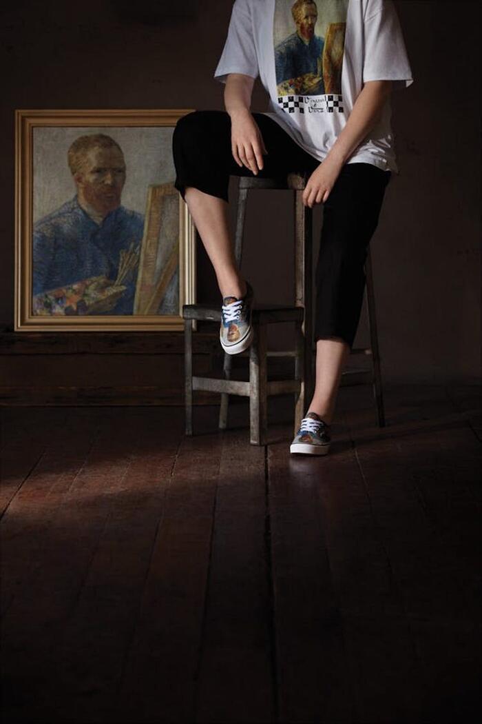 Linea Di Moda Ispirata A Van Gogh Vans