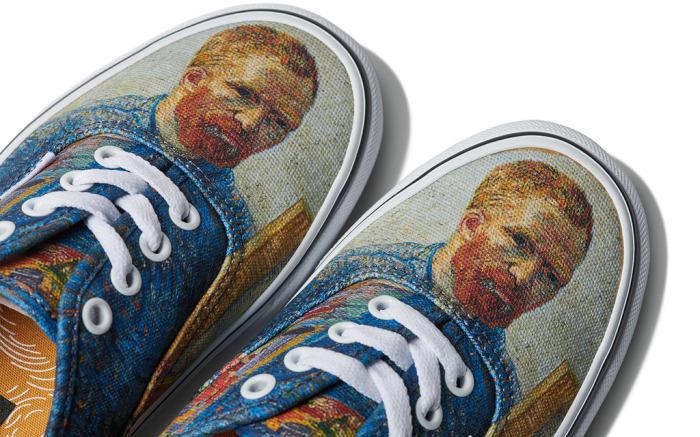 Vans crea una linea di moda ispirata a Van Gogh