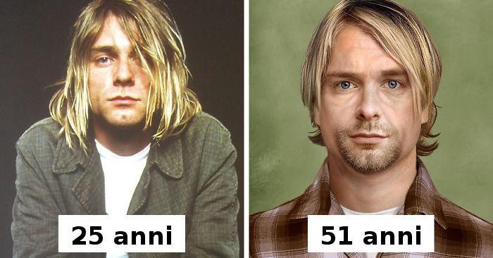 Ecco come sarebbero alcuni personaggi famosi se oggi fossero ancora vivi