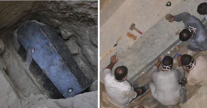 Ricordate il grande sarcofago di 2000 anni ritrovato in Egitto? Finalmente è stato aperto!
