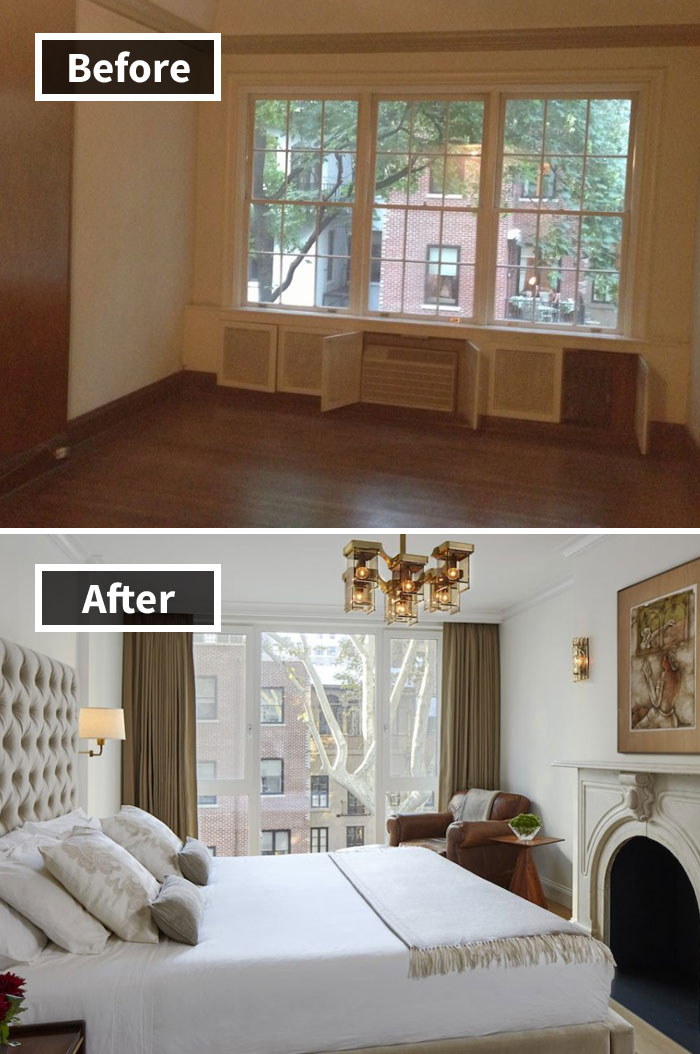 Camera Da Letto York : Stanze ristrutturate prima e dopo esempi idee da