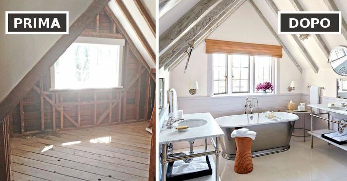 Prima e dopo: 103 esempi di stanze ristrutturate