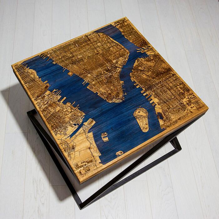 Tavolini In Legno Che Si Illuminano Al Buio Woo Designs
