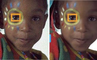 """Una nuova tecnologia rivoluzionaria può rimuovere il """"rumore"""" e la grana nelle fotografie"""