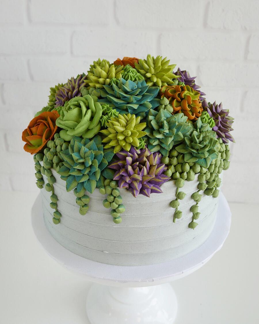 Torte Decorate Con Crema Di Burro Leslie Vigil