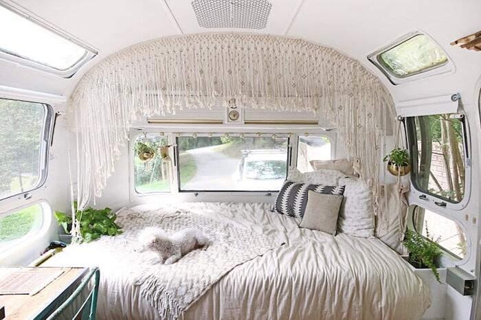 Camper Vintage Interni Rinnovati