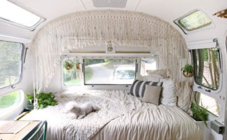 Quando il camper vintage si rinnova: 17 esempi di interni per tutti i gusti