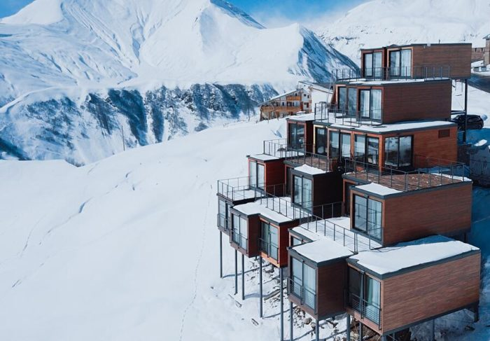 Gli hotel container, 10 esempi di alberghi nel mondo che utilizzano container riciclati
