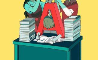 La spaventosa vera natura delle persone nelle illustrazioni di Mimi N