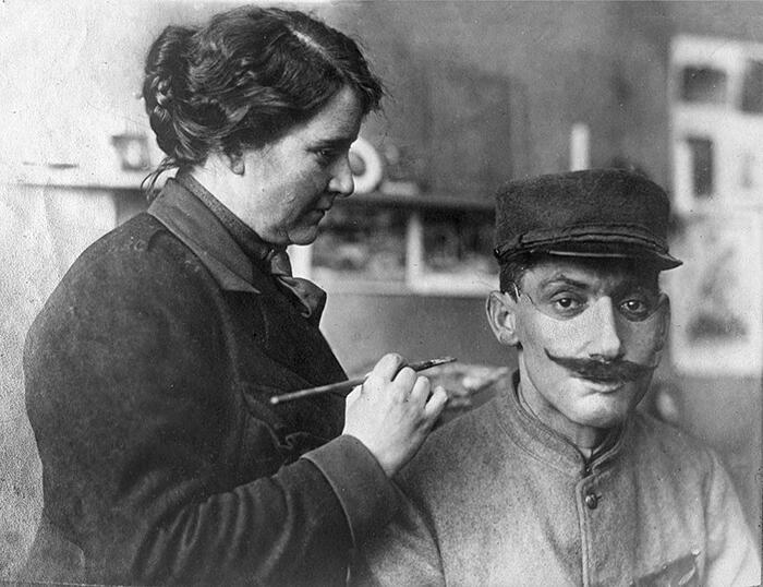 Maschere Cosmetiche Volti Sfigurati Soldati Anna Coleman Ladd