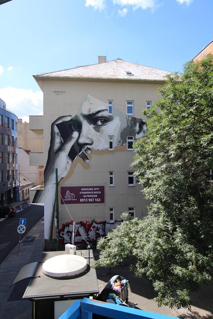 Murale Bratislava Street Art Festival 2018 TankPetrol