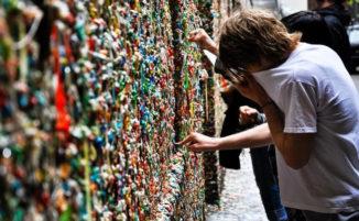 Bubble Gum Walls: gli edifici ricoperti di gomme da masticare più famosi d'America