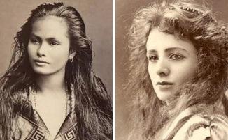 Foto d'epoca mostrano le donne più belle di 100 anni fa