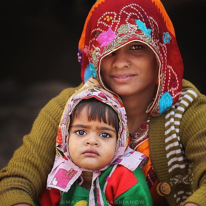 Foto Abitanti India Magdalena Bagrianow