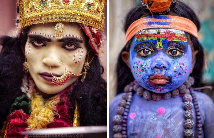 Fotografa viaggia per l'India e cattura l'ipnotizzante bellezza dei suoi abitanti