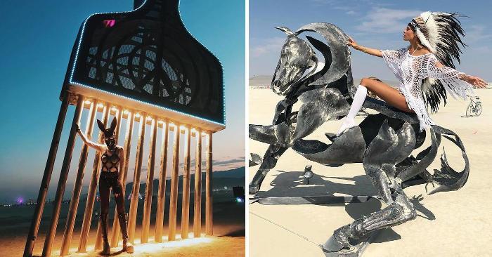109 foto epiche dal festival più folle del mondo: il Burning Man 2018