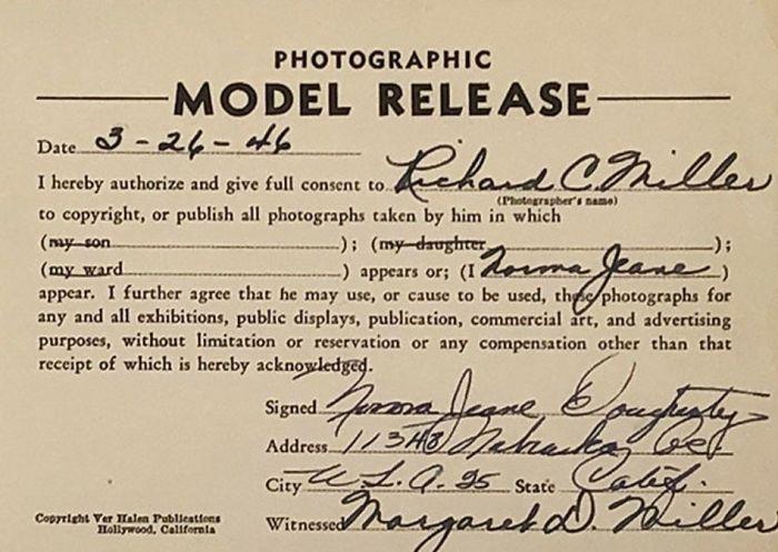 Foto Rare Marilyn Monroe 1946 Richard C. Miller