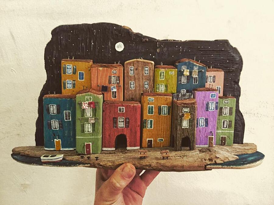 Piccole case legno riciclato nika domnik 15 keblog for Case piccolissime