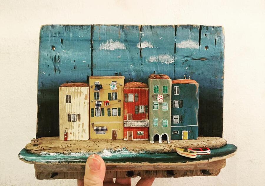Piccole case legno riciclato nika domnik 16 keblog for Case piccolissime