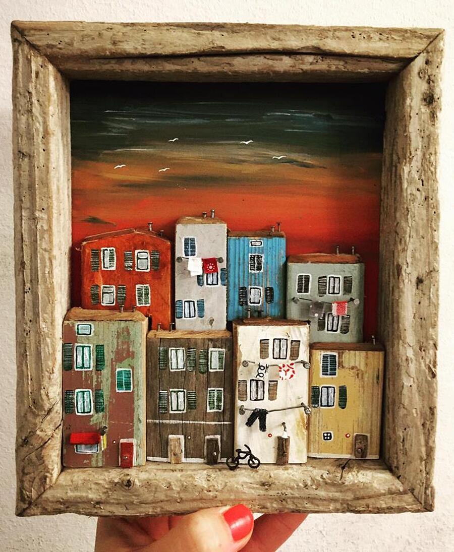 Piccole case legno riciclato nika domnik 18 keblog for Case piccolissime