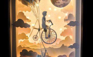 Il mondo di carta di Lele Dilli Paper Art