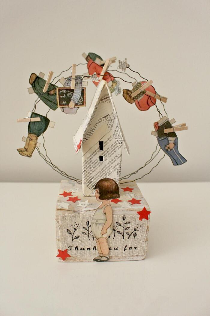 Arte carta riciclata - Momò & Cose