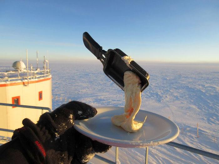 Cucinare All'aperto In Antartide Cyprien Verseux