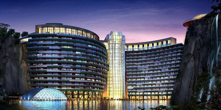 Hotel Sotterraneo Intercontinental Shanghai Cina