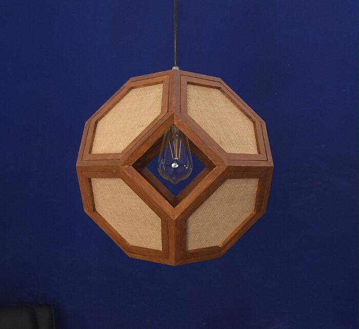 Lampade a sospensione geometriche - FULCRO