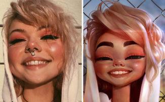 Crea ritratti in stile Disney Pixar di persone reali e questo è il risultato